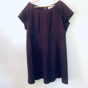 Eliza J Dresses - Eliza J Maroon Dress- Size 22W